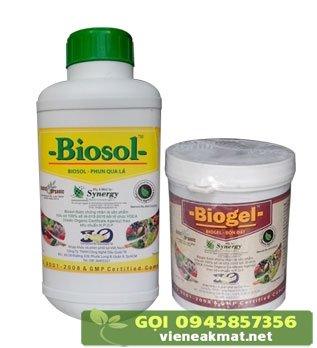 Biosol - Biogel chế phẩm hữu cơ hỗ trợ xử lý bệnh tiêu điên